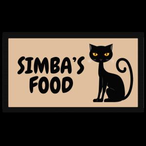 Personalised Black Cat Bowl...