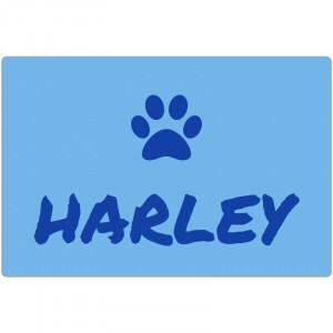 Personalized Light Blue Dog...