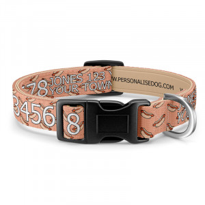 Personalised Hot Dog Collar