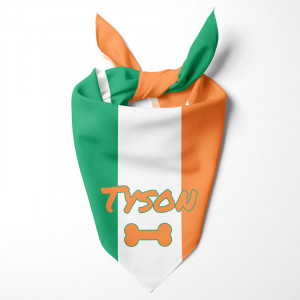 Irish Flag Dog Bandana