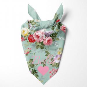 Personalised Vintage Flower...