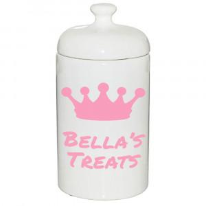 Royal Treat Jar