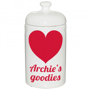 Personalised Treat Jar with...