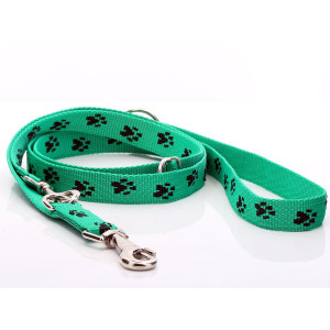 Green Paw Print Adjustable...
