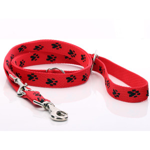 Red Paw Print Adjustable...