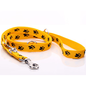 Yellow Paw Print Adjustable...