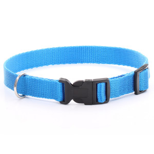 Adjustable Blue Dog Collar