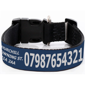 Extra Wide Adjustable Navy...