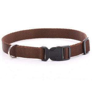 Adjustable Brown Dog Collar