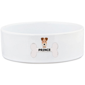 Terrier Dog Bowl