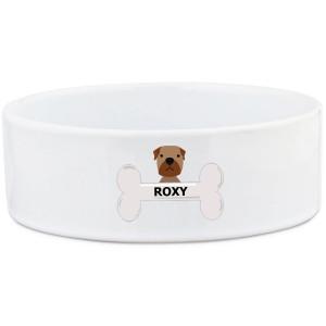 Mastiff Dog Bowl