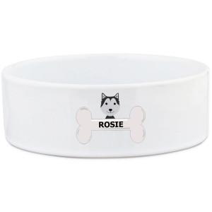 Husky Dog Bowl