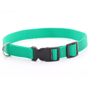 Adjustable Green Dog Collar