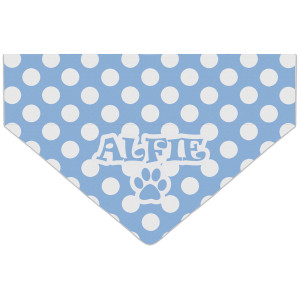 Personalised Blue Polka Dot...