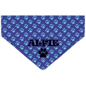Personalised Blue Paw Print...