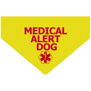 Medical Alert Dog Bandana