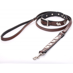 Brown Westie Dog Collar &...