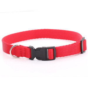 Adjustable Red Dog Collar