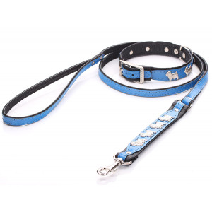 Blue Westie Dog Collar &...