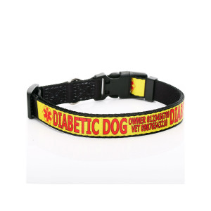 Medical Alert Dog Collar -...