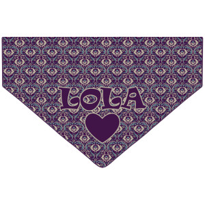Personalised Ornate Purple...