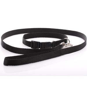 Black Nylon Dog Collar &...