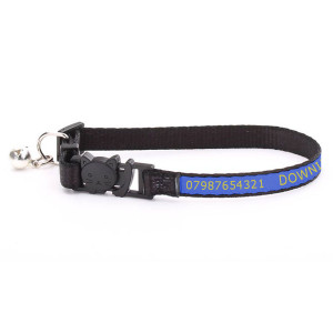 Adjustable Blue Cat Collar...
