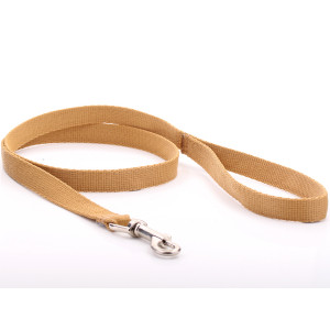 Beige Nylon Dog Lead