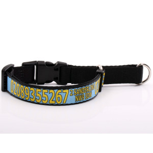 Baby Blue Martingale Collar...