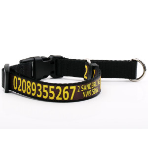 Brown Martingale Collar...