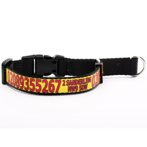 Yellow Martingale Collar...