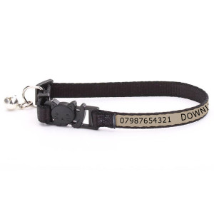 Adjustable Beige Cat Collar...