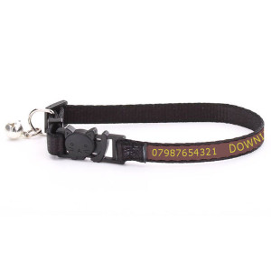 Adjustable Brown Cat Collar...