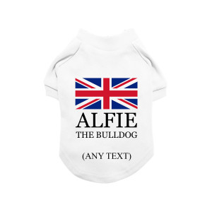 Personalised Union Jack Dog...