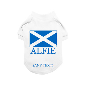 Personalised Scottish Flag...