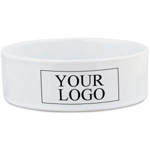 Branded Ceramic Dog Bowl...