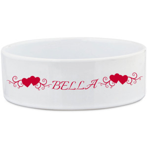 Dog Bowl with Fancy Heart...
