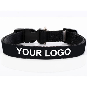 Branded Dog Collar with Logo