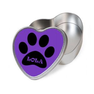 Personalised Purple Heart...