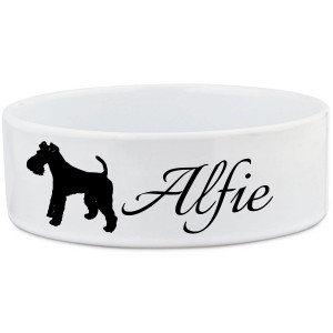 Wire Fox Terrier Dog Bowl