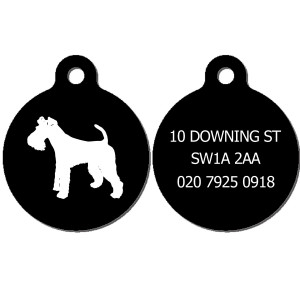 Wire Fox Terrier Dog Tag